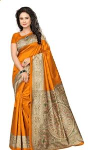 d8a027959a Flaunt an amazing look with the best Kalamkari Sarees! - Creative ...